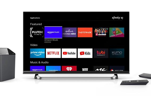 Comcast customers can now play Amazon Music on their TVs