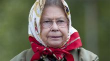 Tourists' embarrassing run in with the Queen