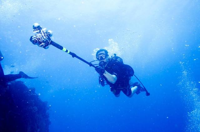 The Big Picture: Filming 360-degree video of the Aquarius underwater Reef Base