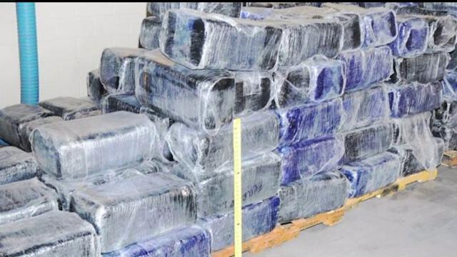 5,000 Pounds Of Pot Found In Vehicle