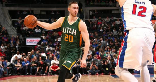 Basket - NBA - Gordon Hayward annonce son départ d'Utah pour Boston