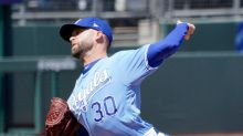 Danny Duffy placed on the Injured List with a flexor strain