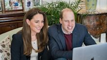 Duke and Duchess of Cambridge tell nursing students pandemic work is 'baptism by fire'