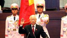 New Vietnam president sworn in after 99.8% vote