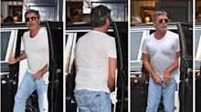 Simon Cowell Suffers Embarrassing Wardrobe Malfunction As He Arrives For 'Britain's Got Talent'
