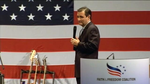 Ted Cruz: 'Thankful' for Tropical Storm Isaac Keeping Biden Away