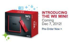 Nintendo Wii mini leaks early at Best Buy Canada with December 7th release date