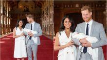Los looks de las 'royals' en las presentaciones de sus hijos