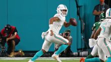 Dolphins' Tua Tagovailoa is 'dying to get in and play' after debut, wants to silence injury concerns