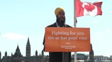 Newsroom Ready: NDP support for Liberals hinges on concrete action: Singh