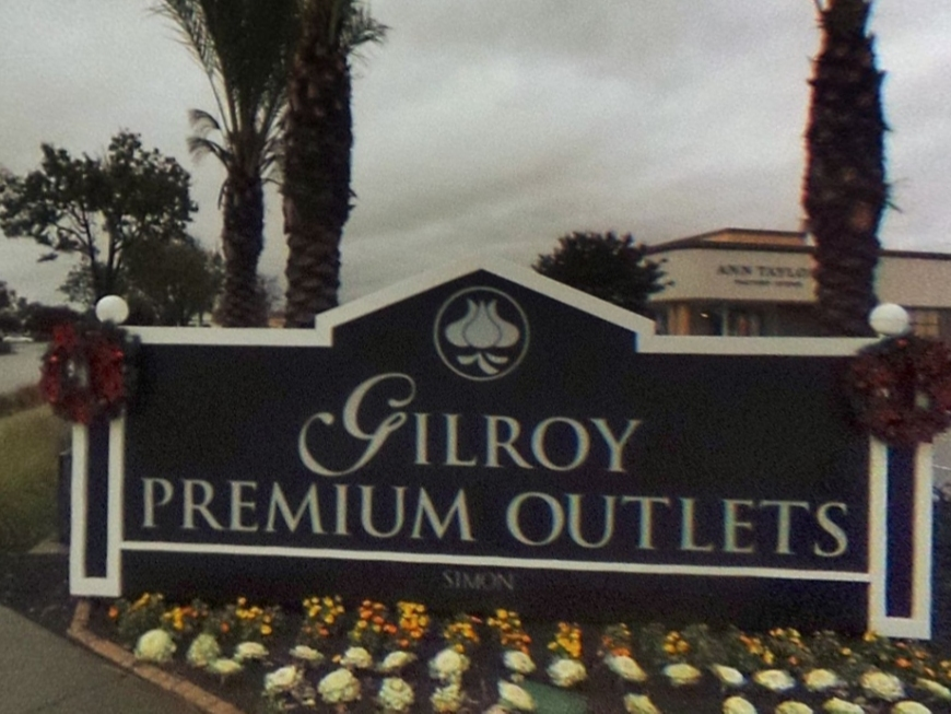 The Gilroy Premium Outlet is among Northern California's largest shopping centers with 145 stores.