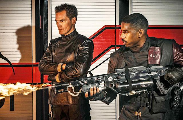 Michael B. Jordan burns all the books in 'Fahrenheit 451' trailer