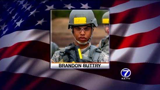 Brandon Buttry of Shenandoah killed in Afghanistan