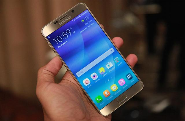Samsung's Galaxy Note 5 isn't coming to the UK
