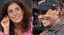 'Take your shirt off': Weird question leaves Rafa Nadal blushing