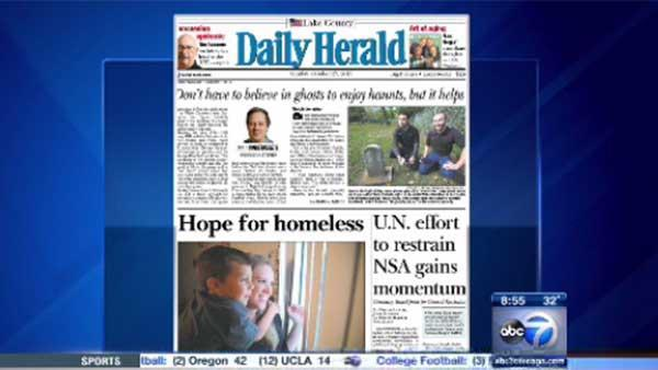 Daily Herald: Homelessness Awareness