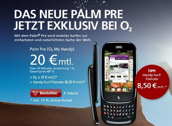 First GSM Palm Pre now on sale in Germany, with new Euro-specific apps in tow