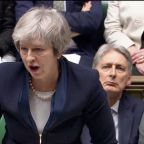 At 'historic' moment, May urges MPs to back her deal