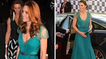Duchess of Cambridge delights fans in a familiar Jenny Packham dress at the Tusk Conservation Awards
