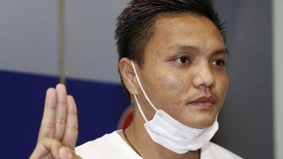 Myanmar player seeks asylum in Japan
