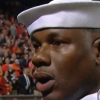 Marlins Guy gives seat to Navy singer after 'God Bless America' mishap