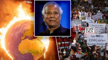 'House is burning': Muhammad Yunus urges rethink of 2050 plan