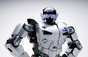 Kondo KHR-2HV bot gets robotic suit upgrade