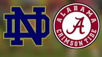 Notre Dame Takes on Alabama in BCS Tournament Game
