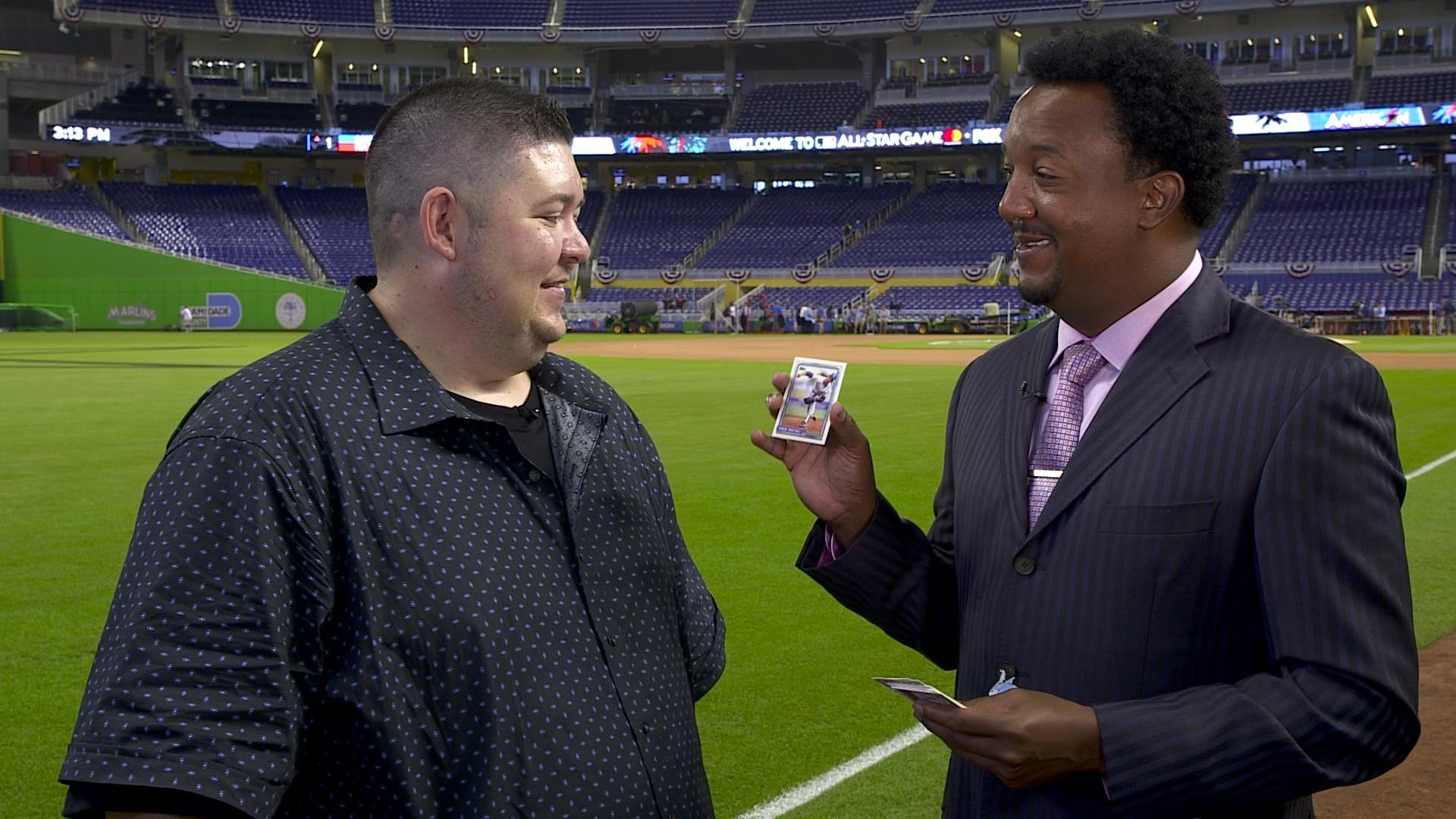 Opening 25 Year Old Baseball Cards With Pedro Martinez