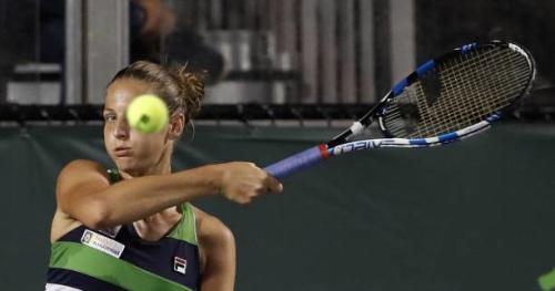 Tennis - WTA - Miami - Karolina Pliskova première qualifiée en demi-finale à Miami