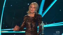 Women take center stage at the SAG Awards