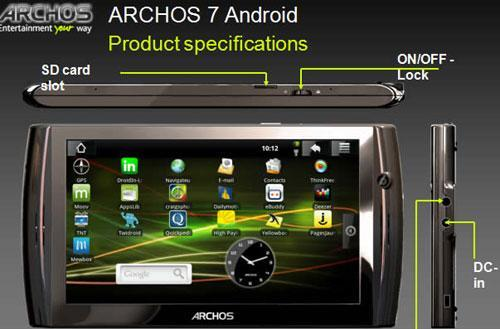 Archos said to have two new Android tablets on track for CeBIT