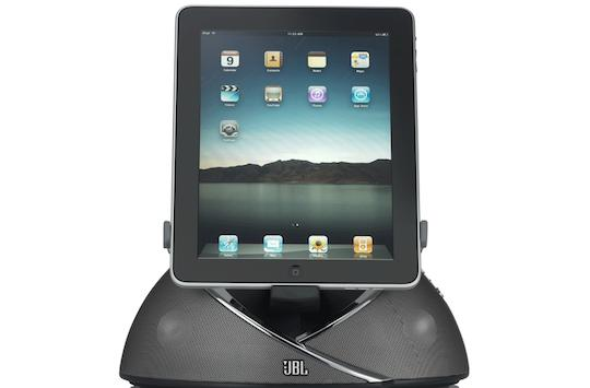 JBL introduces OnBeat speaker dock for iPad, iPhone, iPod