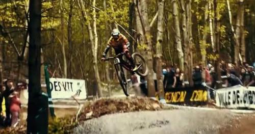 VTT - DH - Vidéo : au coeur team Polygon lors de la victoire d'Alexandre Fayolle à Lourdes