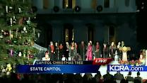 10-year-old boy flips switch to light Capitol Christmas tree