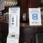 Final checks as London pub prepares to reopen ahead of 'Super Saturday'