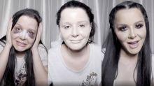 Maraisa mostra transformação com maquiagem após plástica no nariz