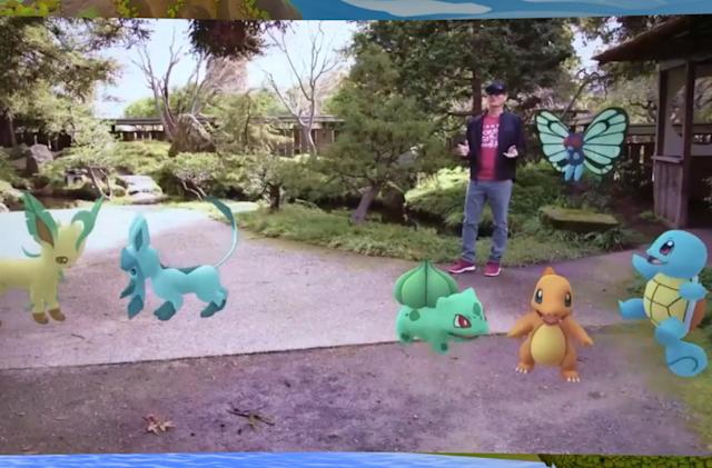 'Pokemon Go' on HoloLens 2 is a glimpse at the future of AR gaming
