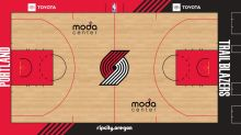 Trail Blazers Unveil New Court for 2020-21