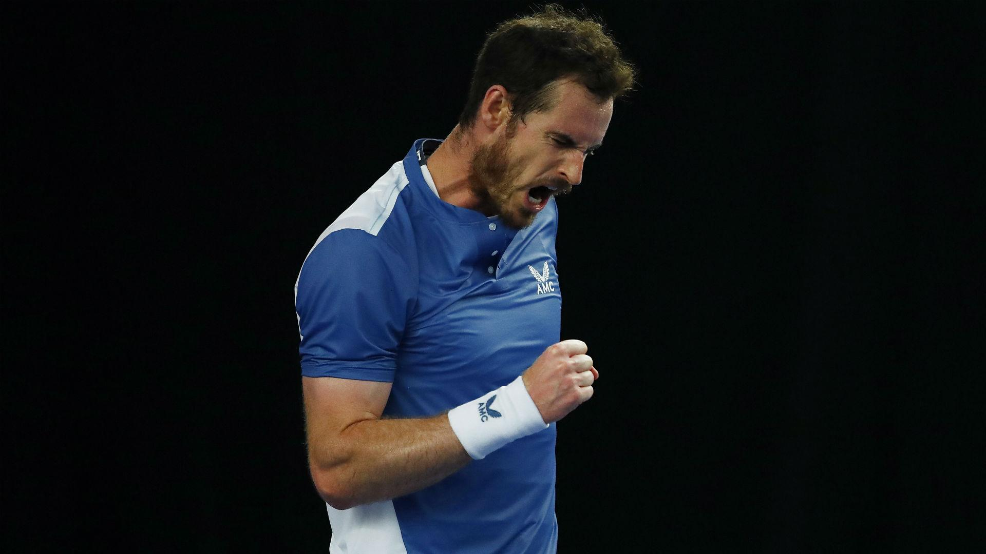 Murray victorious in Battle of the Brits opener
