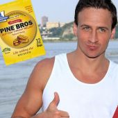 Extremely forgiving cough drop company chooses Ryan Lochte