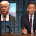 Seth Meyers jokes Trump's inauguration day will end with his impeachment hearing