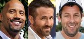 Dwayne Johnson, Ryan Reynolds and Adam Sandler (Yahoo Entertainment)