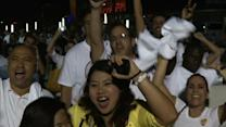 Fans Cheer Dramatic Heat Comeback