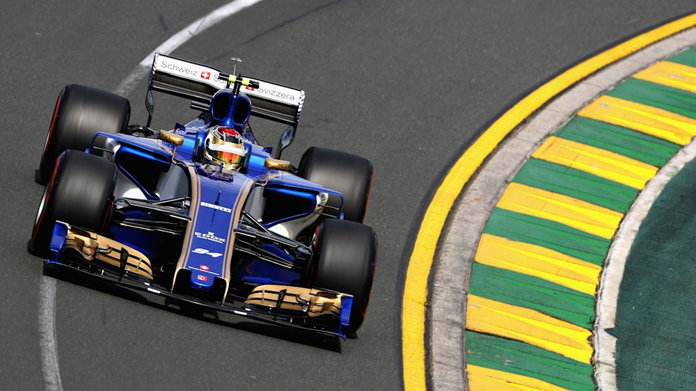 Sauber's Wehrlein replaced by Giovinazzi in Melbourne