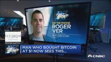 Man who bought bitcoin at $1 now sees this