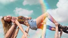HaileyBaldwin Kick-Starts Festival Season With Dreamy H&M Loves Coachella Collection