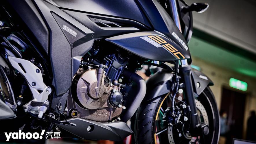 再次見面也依舊心動!2021 Suzuki Gixxer 250、SF 250台北重型機車展賞車! - 9