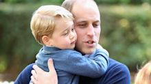 Prince William jokes about noisy Prince George