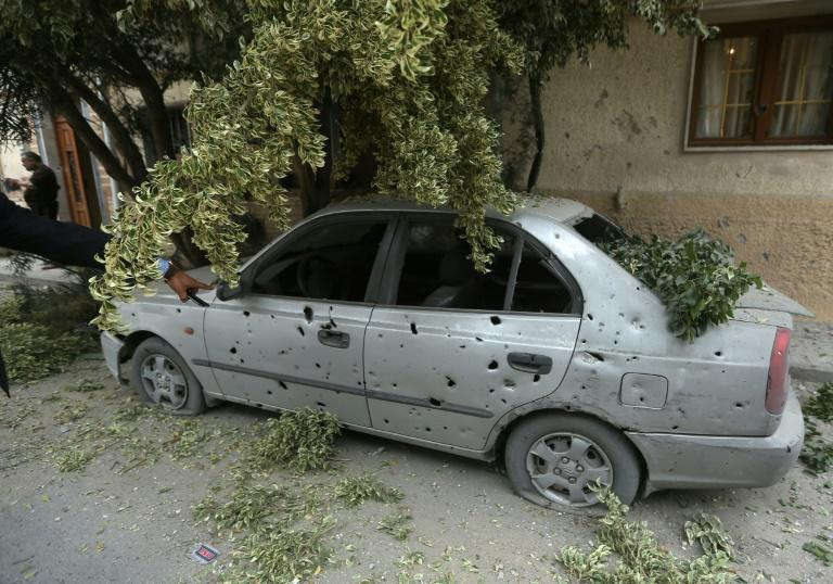 Deadly fighting flared again in the Libyan capital despite a UN Security Council resolution calling for a lasting ceasefire (AFP Photo/Mahmud TURKIA)